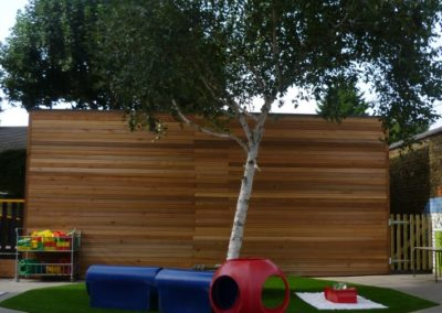 Earlsfield Primary School playarea built by cotaplan
