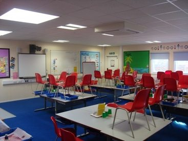 Interior Classroom Fit Out