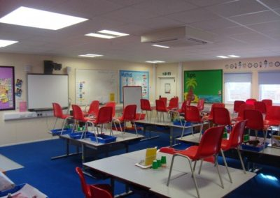Lynch Hill primary school classroom