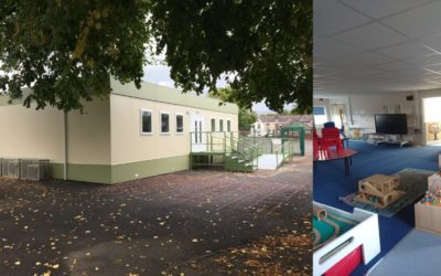 New classrooms for a new term!