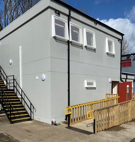 NEW WELFARE FACILITIES IN BASINGSTOKE