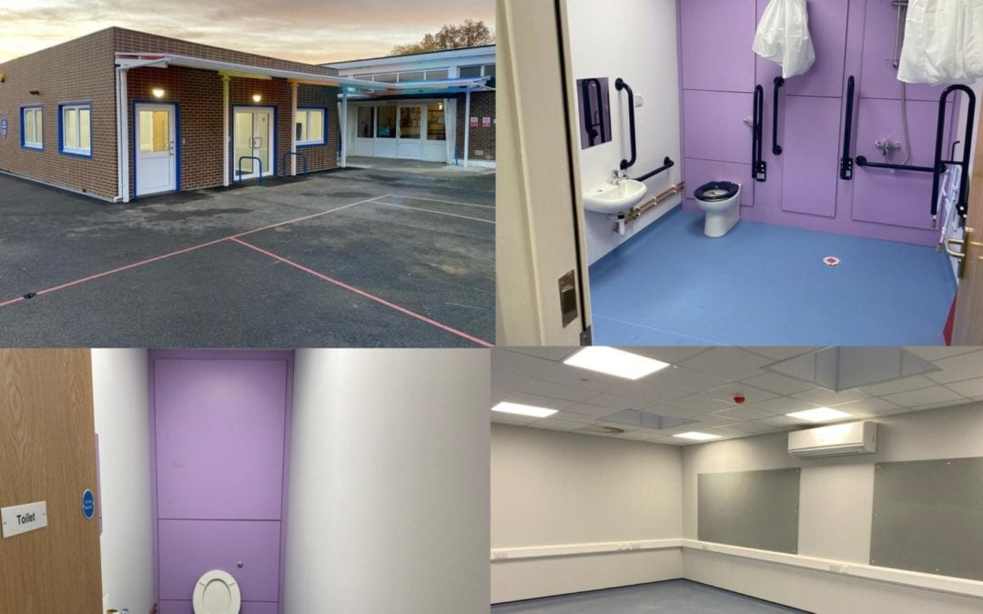 NEW MODULAR TEACHING FACILITY IN SIDCUP